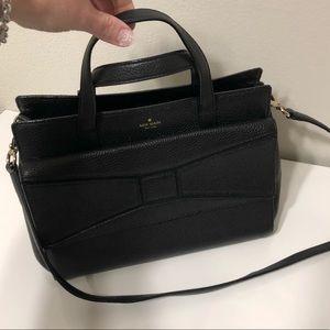 """Kate Spade Black medium """"envelope"""" purse"""